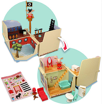 olivia 2 in 1 playhouse