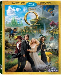 The Great and Powerful Oz movie is a great stocking stuffer for everyone