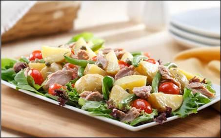 Tuna Dijon Potato Salad