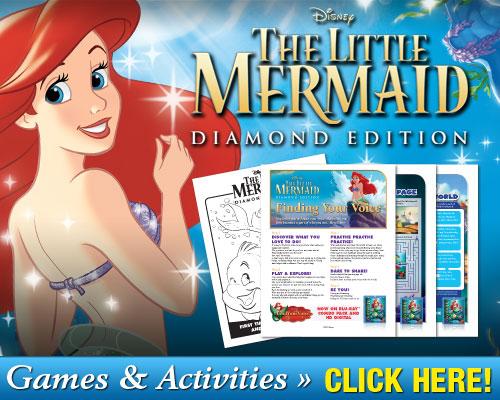 little mermaid printable