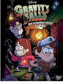 gravity falls dvd