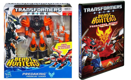 transformers prime prize pack