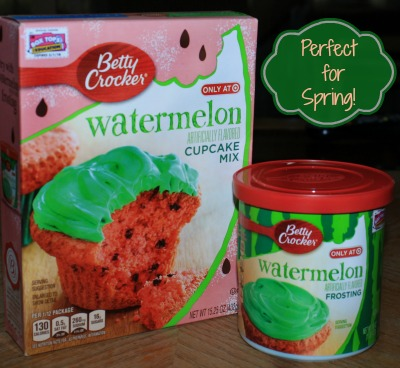 1StopMom - We Tried The New Betty Crocker Watermelon ...