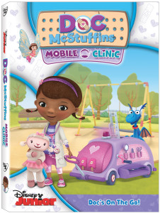 Doc McStuffins Mobile DVD art