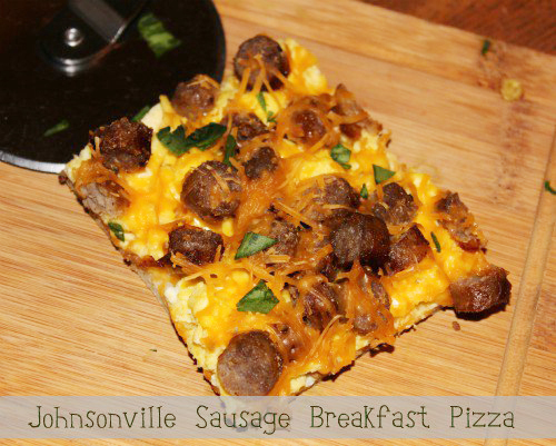 Johnsonville Sausage Breakfast Pizza