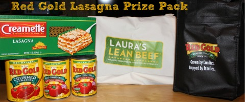 Red Gold Lasagna Prize Pack