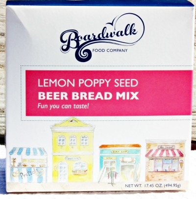 lemon poppy seed beer bread
