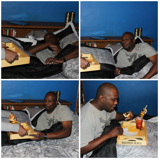 Johnsonville BratFest In Bed