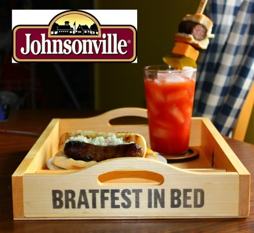 Johnsonville Bratfest In Bed