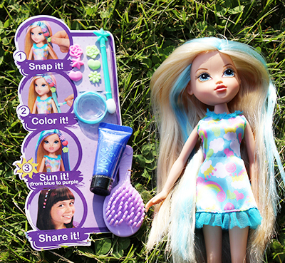 Sunkissed Magic Hair Moxie Girl
