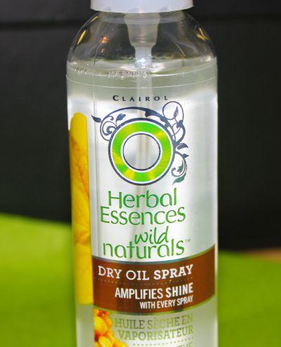 Herbal Essence Wild Naturals Illuminating Dry Oil Spray