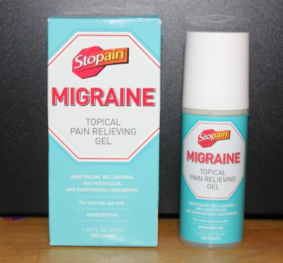 Stopain Migraine Relieving Gel