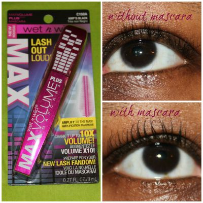 wet and wild max volume plus mascara