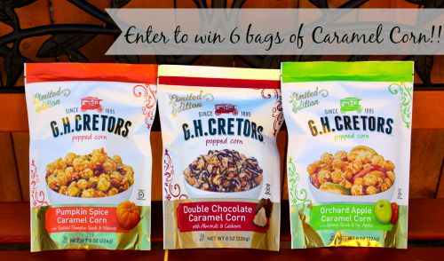 Limited Edition G.H. Cretors Caramel Corn