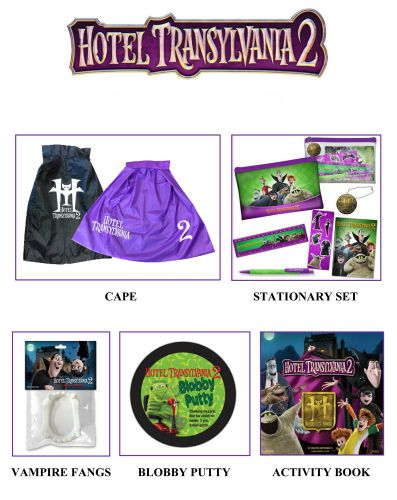 hotel transylvania 2 giveaway prize pack