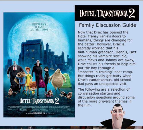 hotel transylvania discuss