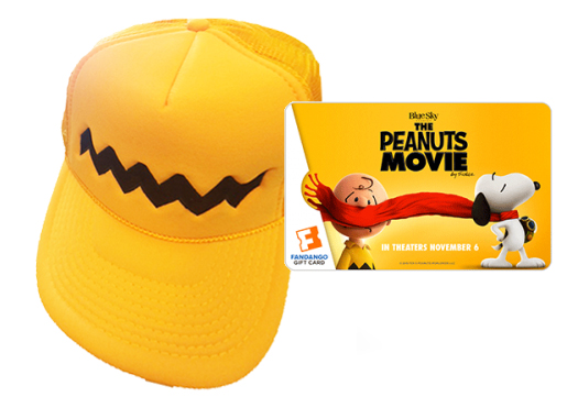 Peanuts Hat Prize Pack