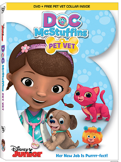 Doc McStuffins Pet Vet DVD Giveaway