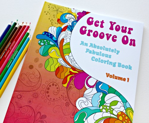 Get Your Groove On Coloring Book