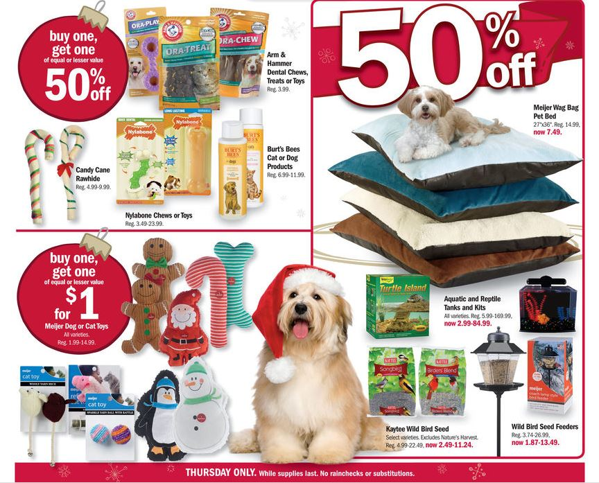 Meijer Thanksgiving Ad