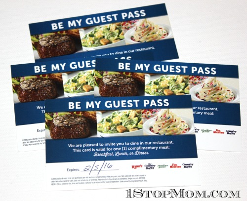 Ovation brand meal pass giveaway