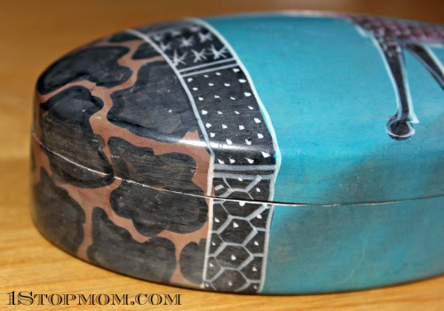 World Vision African Soapstone Box 1