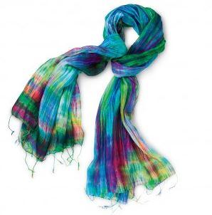 world vision silk scarf