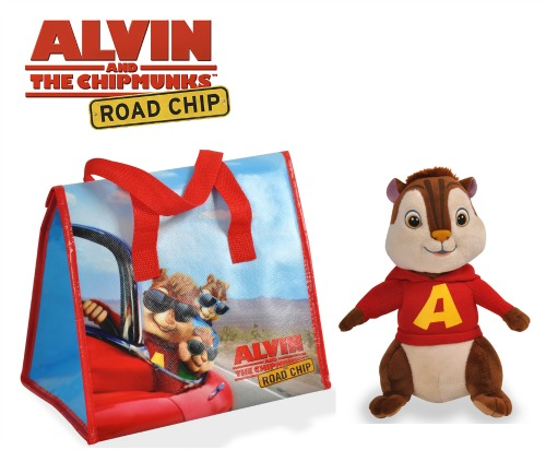 alvin and the chipmunks prize pack