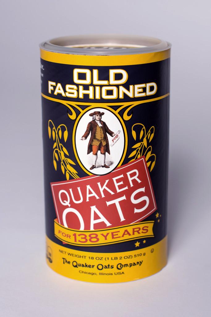 Quaker Replica Canister