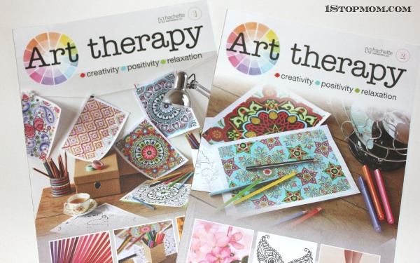 Art Therapy Adult Coloring Book Subscription
