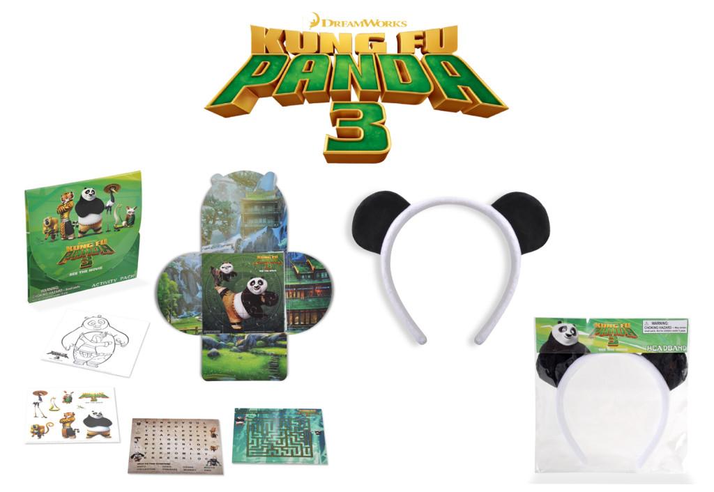 Kung Fu Panda 3 Giveaway Prize Pack