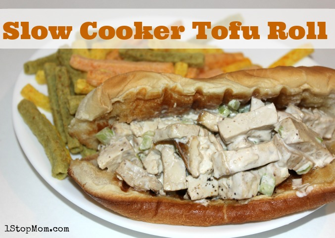 Slow Cooker Tofu Roll