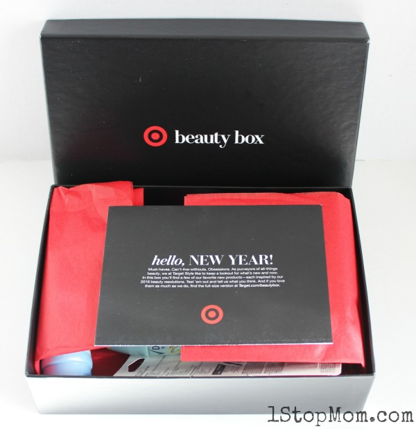 Target Beauty Box January 2016