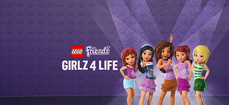 LEGO FRIENDS: GIRLZ 4 LIFE Giveaway
