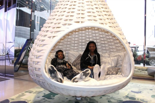radisson blu hanging chair