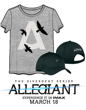 allegiant prize pack giveaway