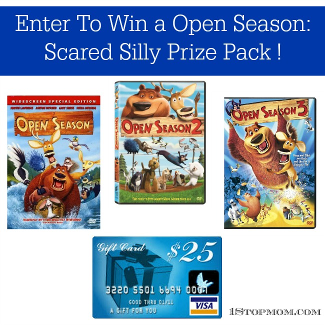 Open Season Scared Silly Prize Pack Giveaway