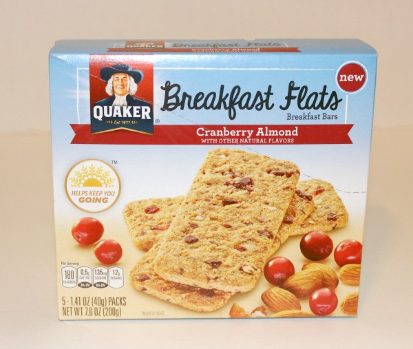 Quaker Breakfast Flat Cranberry Almond