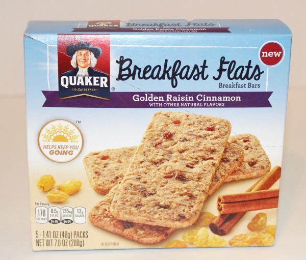 Quaker Breakfast Flats Golden Raisin Cinnamon