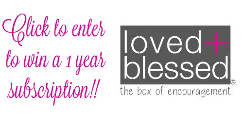 love and blessed giveaway