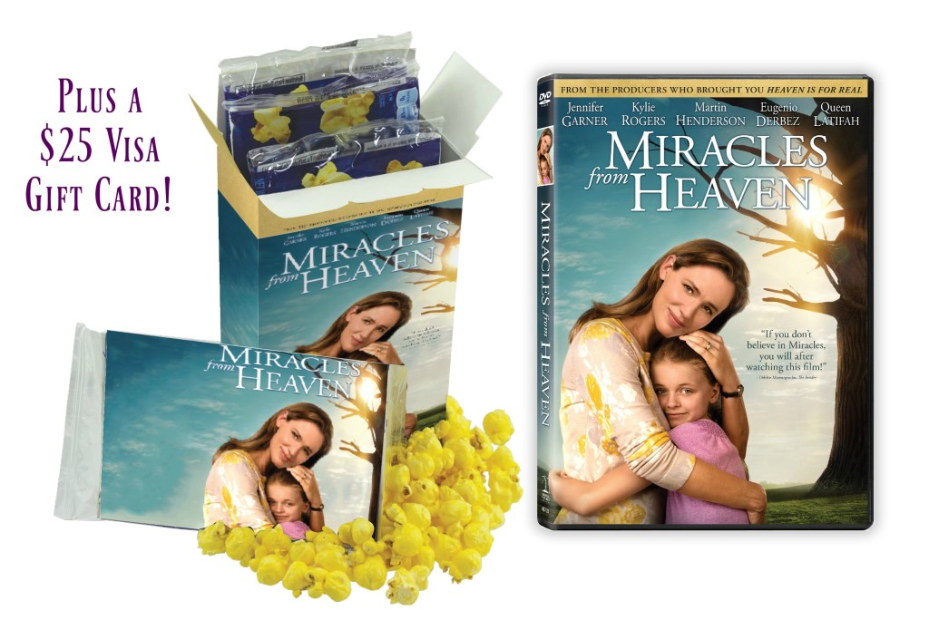 miracle from heaven visa gift card giveaway