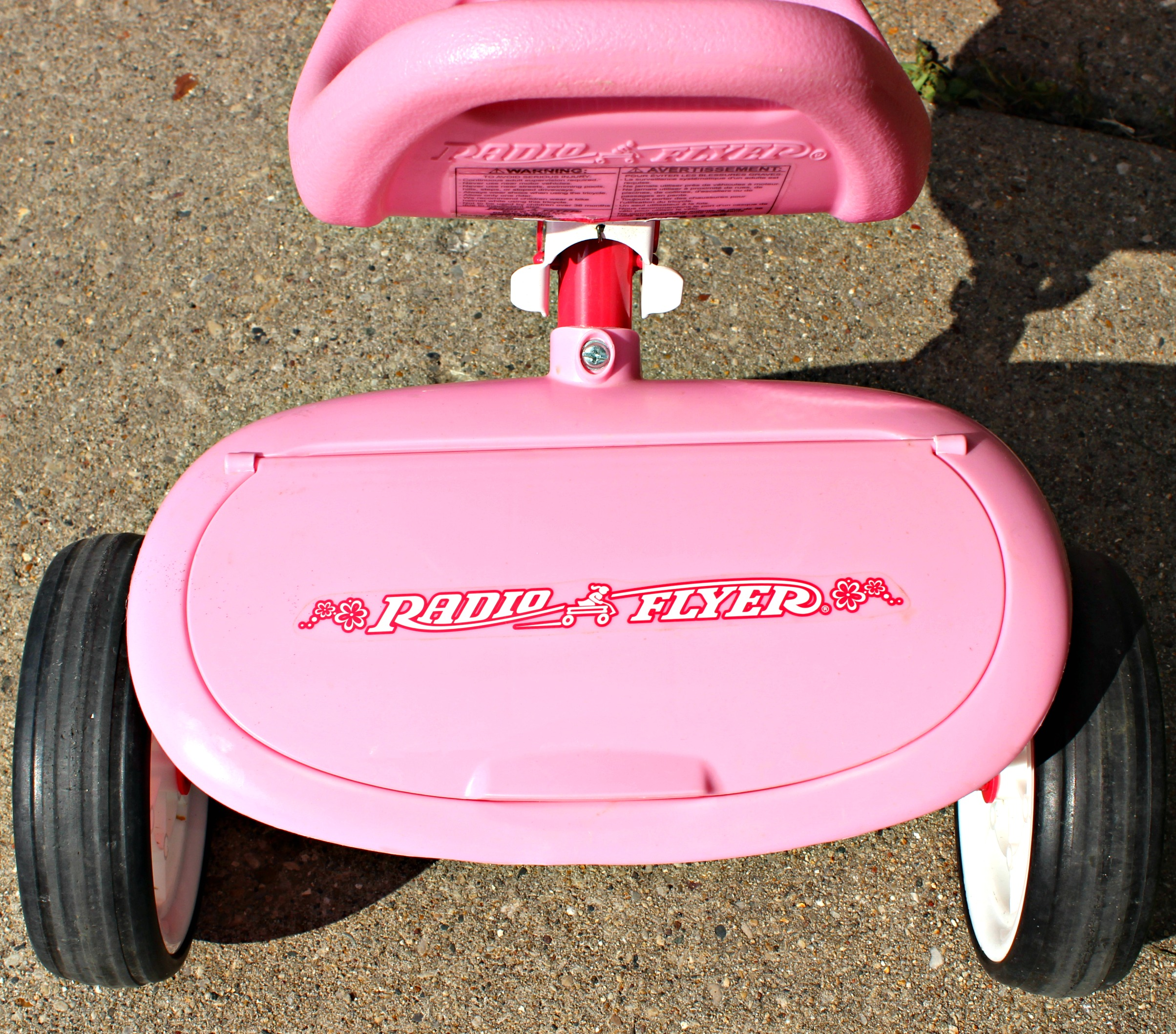 pink radio flyer bike