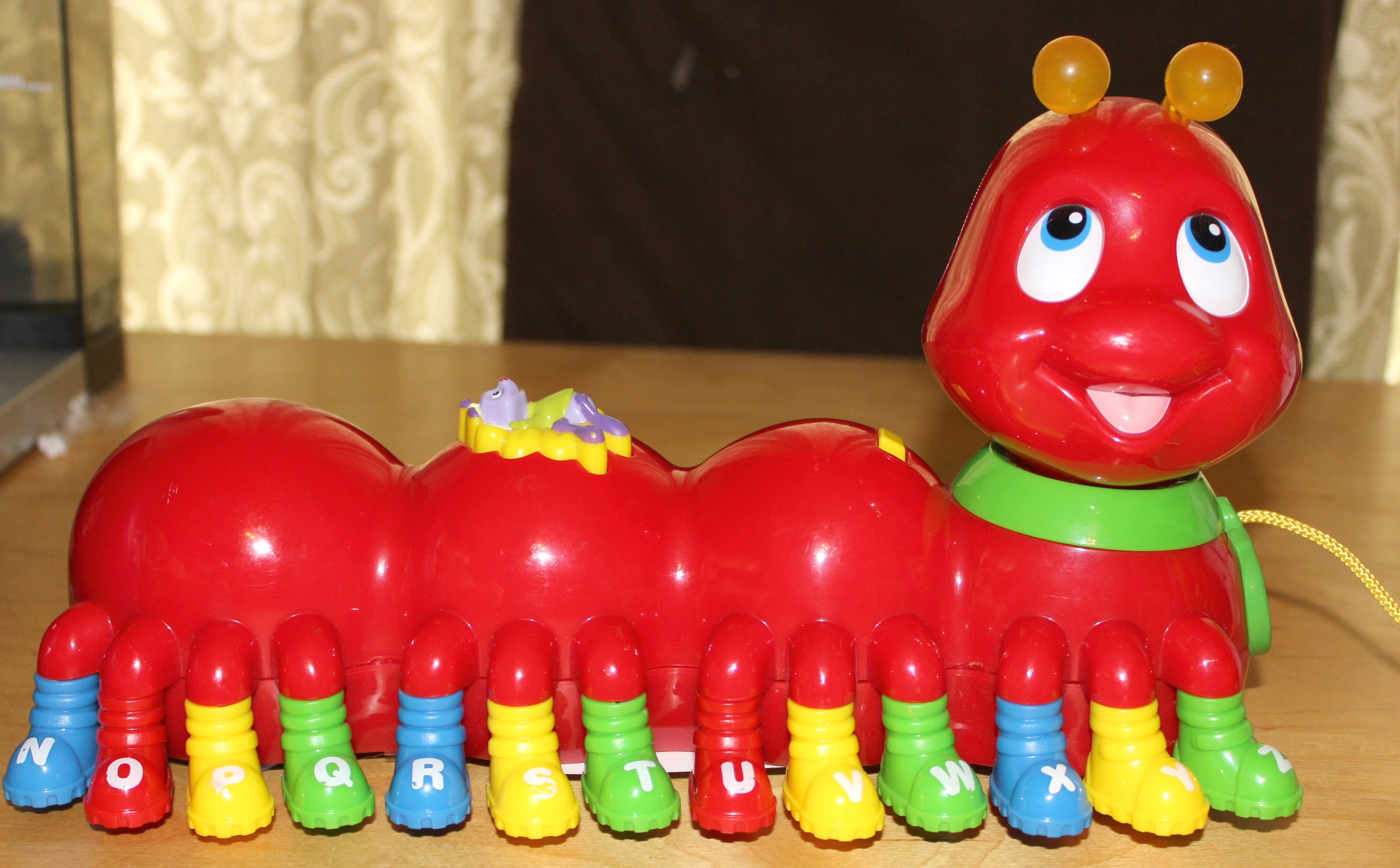 toy caterpillar