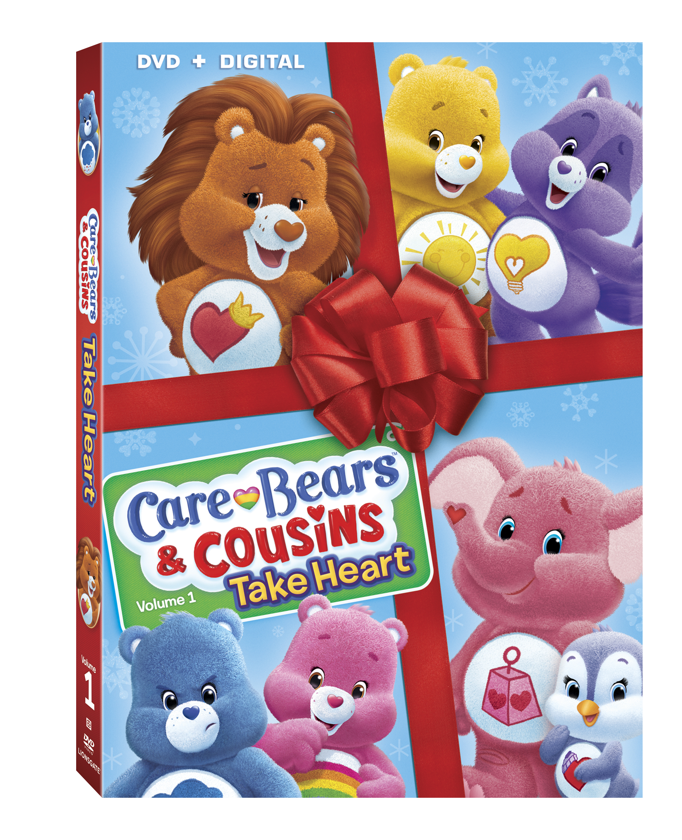 care bears and cousins take heart dvd review
