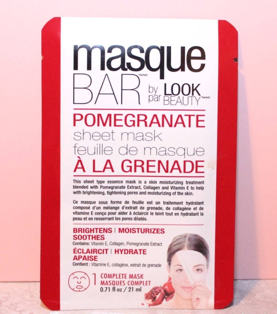 masque bar face mask glossy box