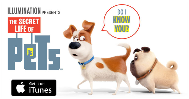 secret life of pets digital hd