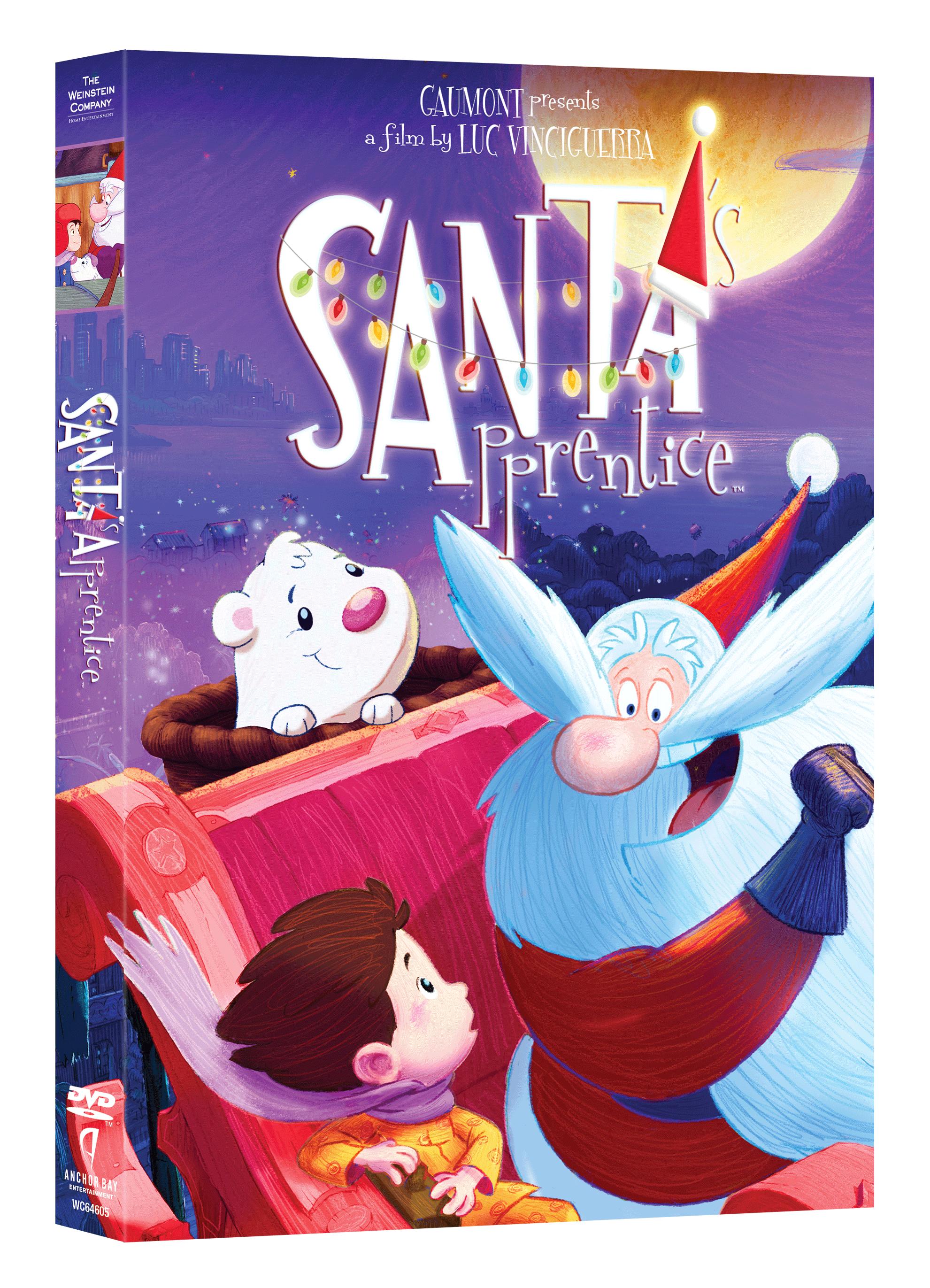 Santa's Apprentice DVD giveaway