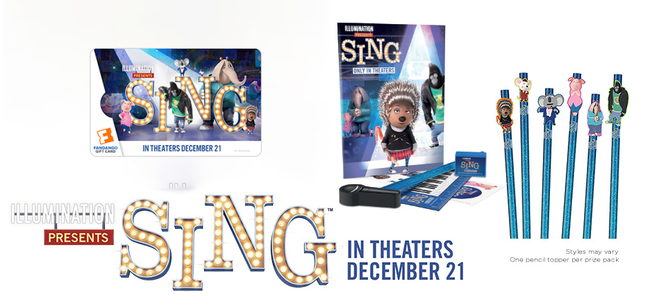 sing prize pack giveaway