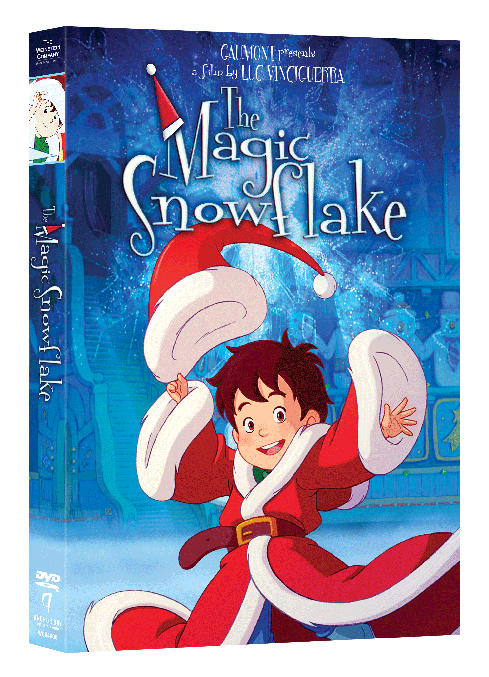 The Magic Snowflake DVD giveaway