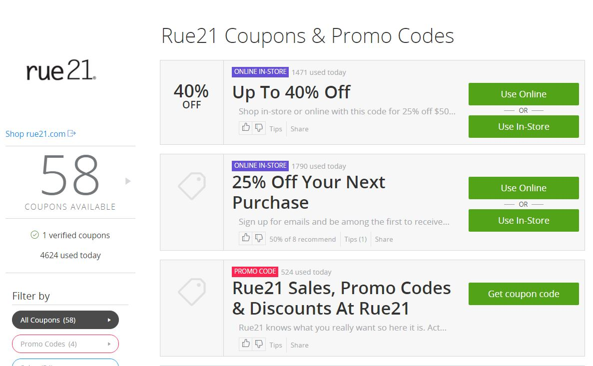 groupon coupon rue 21